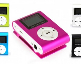 MP3 PLAYER WITH EARPHONE, MICRO SD AND SCREEN OEM