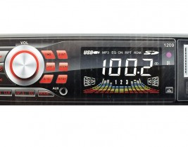 RADIO MP3 PLAYER ΑΥΤΟΚΙΝΗΤΟΥ ΜΕ USB/SD/FM & BLUETOOTH CAR-1209