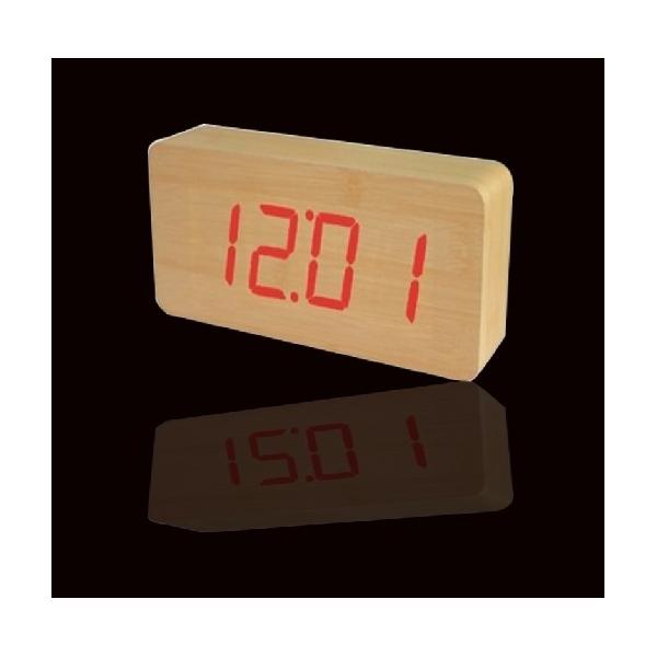 ΕΞΥΠΝΟ ΛΕΠΤΟ ΞΥΛΙΝΟ ΕΠΙΤΡΑΠΕΖΙΟ ΤΟΙΧΟΥ ΡΟΛΟΙ LED 09800 ΟΕΜ 5b21a0a0561